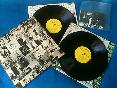 The Rolling Stones - Exile On Main Street 2LP UK 1972 VG+/VG+ 1st press