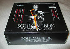 namco soul calibur cards full box of 16 sealed packets and 3 card box topper set