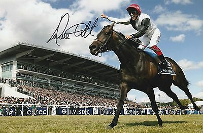 Horse Racing Frankie Dettori Original Hand Signed Photo 12x8 With COA