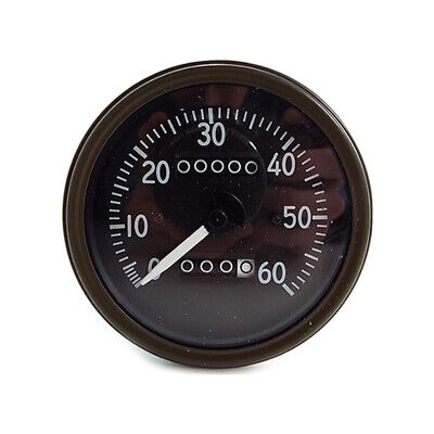 Willys Mb Late Short Needle Speedometer Correct Fonts And Luminous Needle   Je04