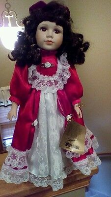 SEYMOUR MANN, A CONNOISSEUR COLLECTION DOLL, OH 17806 With Doll Stand