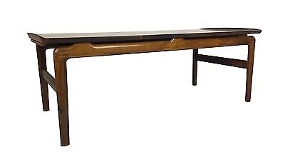 Solid Rosewood Coffee Table by Peter Hvidt for France & Son Mid Century Danish