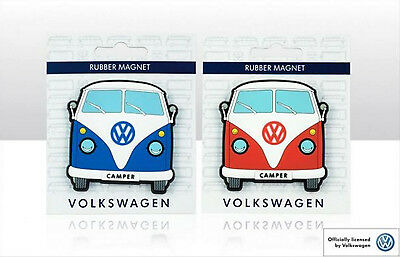 Officially Licensed Volkswagen Rubber Front VW Campervan 2 Pack Fridge Magnet #6