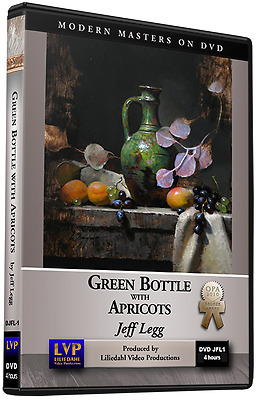 Jeff Legg: Green Bottle with Apricots - Art Instruction DVD