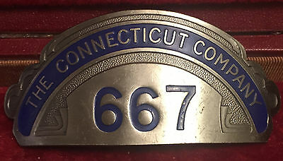 The Connecticut Company Street Railway Badge Extra Nice