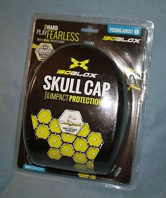 isoBLOX Skull Cap head impact protection, new in package, FREE SHIP