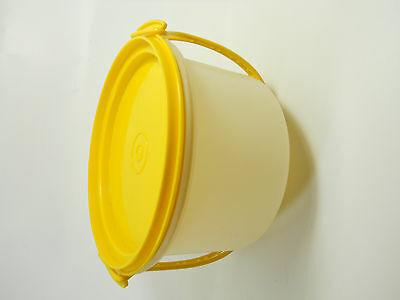 Tupperware Storage Container Toys Crafts Organize Yellow