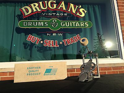 Vintage Ludwig Speed King Bass Drum Pedal - CLEAN, Excellent + Condition!