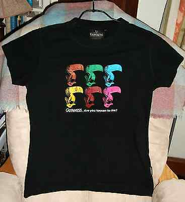 """Official """"GUINNESS. Are you toucan to me?"""" Short-sleeve T-Shirt:- only worn ONCE"""