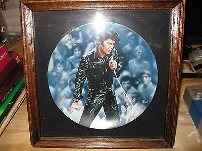 Elvis Presley:In Performance Plate Collection, Plate #1, '68 Comeback Special