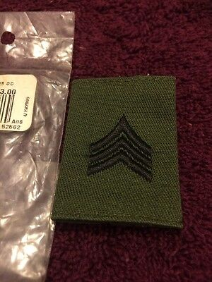 Us Army Enlisted SGT / E-5 Gore -Tex Jacket Loop Patch