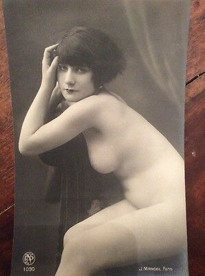 CPA Nu Classical Nude Vintage Photograph