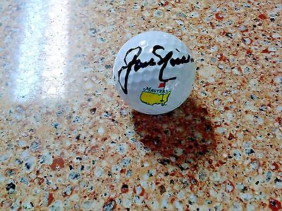 Jack Nicklaus Signed Masters Golf Ball.