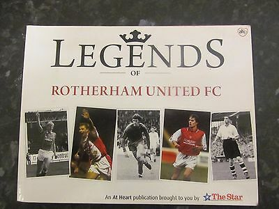 Legends of Rotherham United Book signed by 8