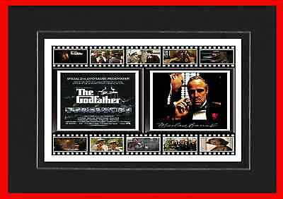 The Godfather Movie Mounted Display