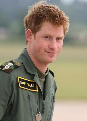 "Photograph Prince Harry of Wales GLOSS COLOUR 5 x 7"" Photo (9)"