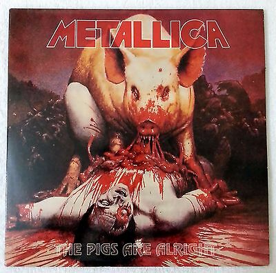 Metallica - The Pigs Are Alright 2 X LP