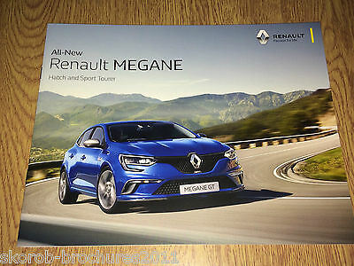 RENAULT - The All New  Megane Sales Brochure 1/2017