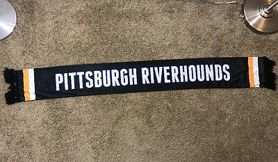 Pittsburgh Riverhounds Soccer Team Scarf