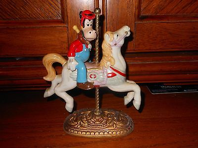 Horace Miniature Carousel Horse Stand in Very Good Condition