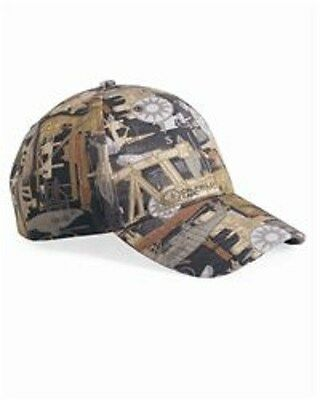 12 New Camo Print - Oilfield Hats Embroidered4ur Company Structured Mid-profile