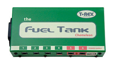 T-Rex Fuel Tank Chameleon Power Supply for Guitar Effects Pedals!
