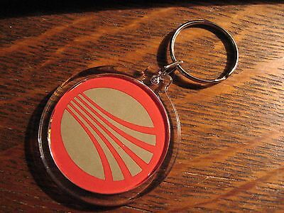 Continental Airlines Keyring -   CO CAL Meatball Logo  Pilot Stewardess Keychain