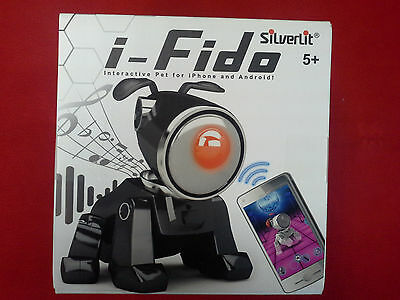 i-FIDO SILVERLIT 83012 Interactive Pet for Iphone&Android. NEW IN BOX