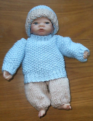 Hand Knitted  Dolls   Outfit For Emmy Type  Doll