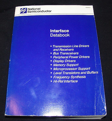 National Semiconductor Interface Databook 1988