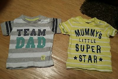 next baby t shirts 0-1 month