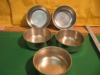 Lot Of 5 Vollrath 87420 Stainless Steel Bowls