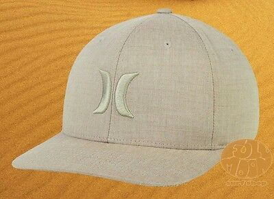 huge selection of 0936e 95e02 New Hurley One and Textures Tan Flexfit Mens Cap Hat