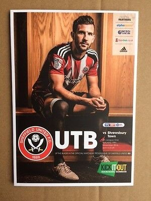 Sheffield United v Shrewsbury Town 2016-2017
