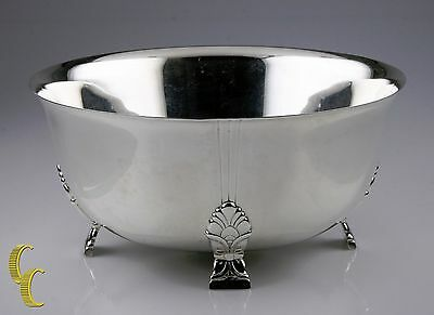 Tiffany & Co. Sterling Silver Palmette Fruit Bowl Excellent Condition! #23238