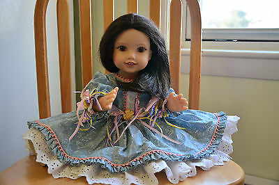 A Life of Faith doll, 18 in, Violet Travilla, Breezy Point 1997, all vinyl doll