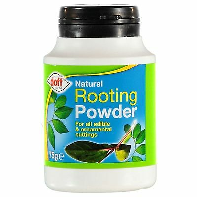 New Doff Natural Rooting Powder 75g Pack Indoor & Garden Plants Free Pstage