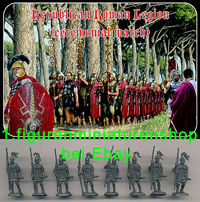1:72 FIGUREN M102 REPUBLICAN ROMAN LEGION (ceremonial march) - STRELETS