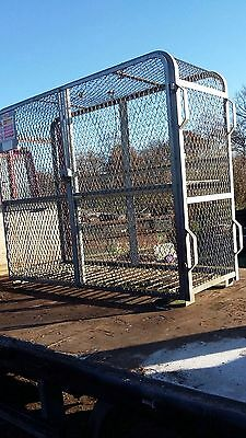 large cage for gas cylinder storage many other uses and lockable