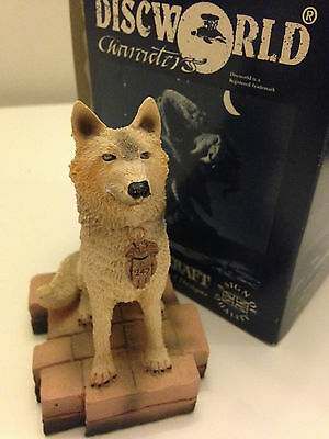 Clarecraft Discworld character DW102 Angua As A Wolf