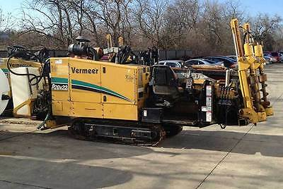 Vermeer D20x22 - 2005 Used HDD Rig with Full Rack Of Pipes