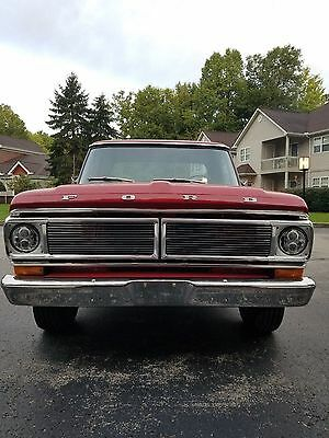 1971 Ford F-100  1971 Ford F100
