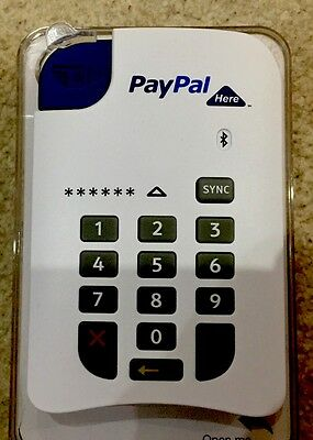 PayPal Here Wireless Card Reader. Perfect Condition. Bluetooth.