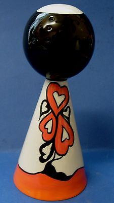 Lorna Bailey Orb Conical Sugar Shaker/Sifter- Valentine Drive - Perfect