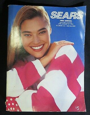 Sears 1992 Annual Catalog Vintage Department Store Advertising 1595 Pages Ed 284