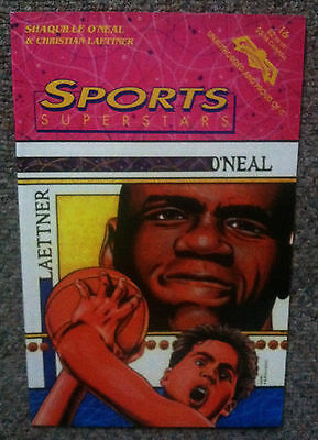 Sports Superstars #16      Shaquille O'Neal