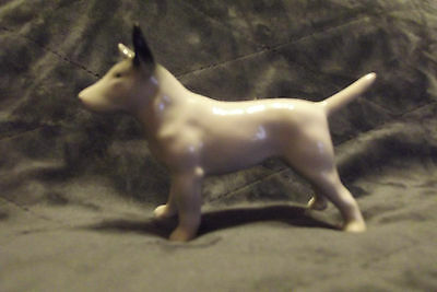 Bull Terrier Dog - Fine Ceramic - Hard To Find Item, Believed To Be Branksome