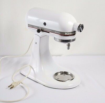 White KitchenAid KSM90 For Parts or Repair Kitchen Aid