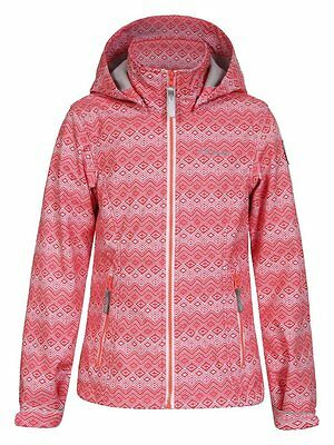 Icepeak Tess JR Veste en softshell pour enfant 10 ans Orange - Blood Orange