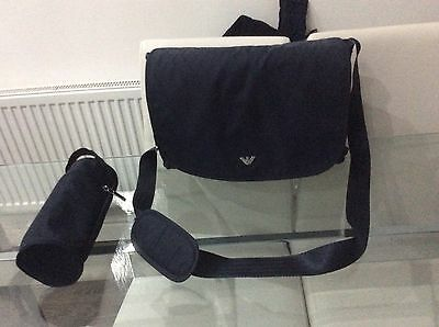 Armani Baby Changing Bag - Nappy - Prom - Navy